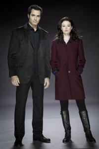 Continuum Season 1 - Victor Webster as Carlos Fonnegra, Rachel Nichols as Kiera Cameron - Photo by Kharen Hill/Syfy