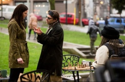 Continuum S2x03 - Kiera goes to meet with Crazy Jason who is playing chess