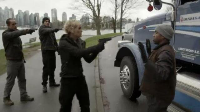ContinuumS2X04Liber8 takes over a fuel truck