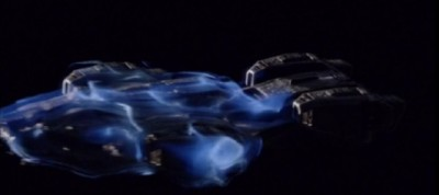 Dark Matter S1x01 The Raza enters FTL mode