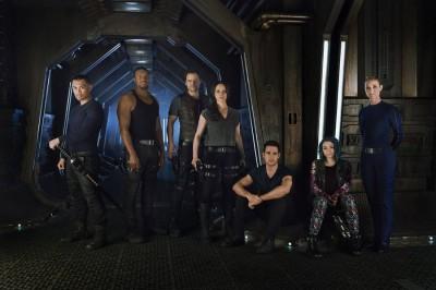 Dark Matter Main Cast - Image courtesay of Syfy
