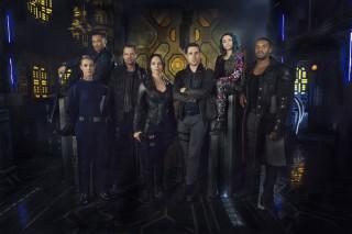 Dark Matter Main Cast - Image courtesy Syfy