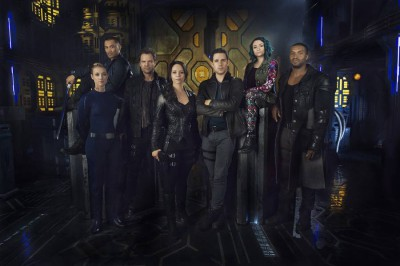 Dark Matter Main Cast - Image courtesy Syfy