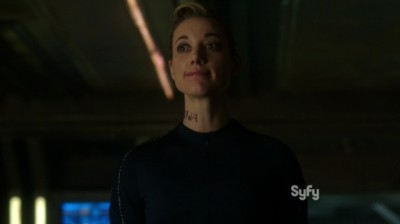 Dark Matter S1x03 Android says the body was preserved in the cold area of the ships cooling system
