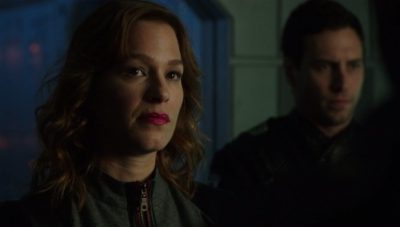 Another baddy - Chief Inspector Shaddick played by Franka Potente