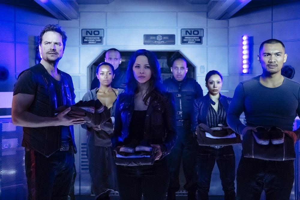 Dark Matter S2x01 - The crew will be imprisoned!