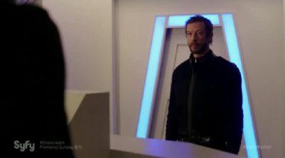 Dark Matter S2x05 Chief Inspector Kierken portrayed by Kris Holden-Ried