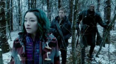 Dark Matter S2x05 Five, Devon and Six show up to the rescue