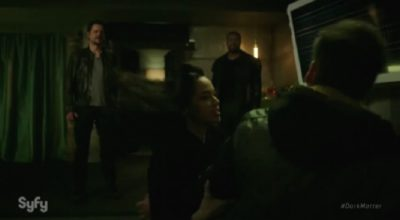 Dark Matter S2x07 Two kicks ass to save Talbor