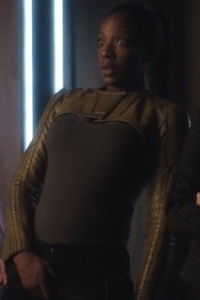 Dark Matter S3x04 Solara Shockley portrayed by Ayisha Issa