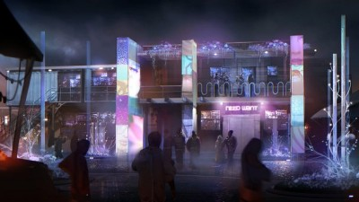 Defiance S1x01 - Concept art of town
