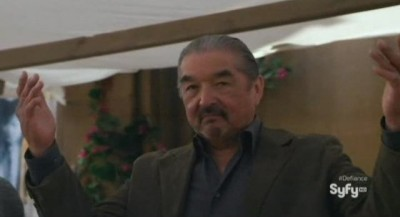 Defiance S1x01 - Graham Greene as Rafe McCawley
