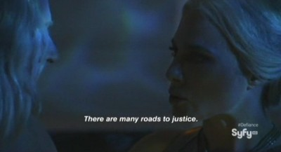 Defiance S1x01 - There are many roads to justice
