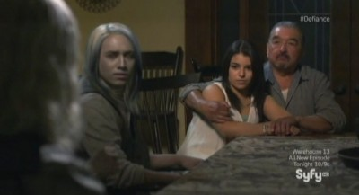 Defiance S1x03 - Rafe's dining room