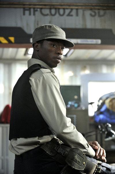 Defiance S1x09 - Dewshane Williams as Deputy Tommy LaSalle