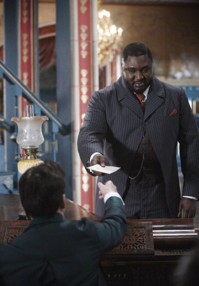 Dracula S1x03 – R.M. Renfield front view - Delivers the message to Dracula