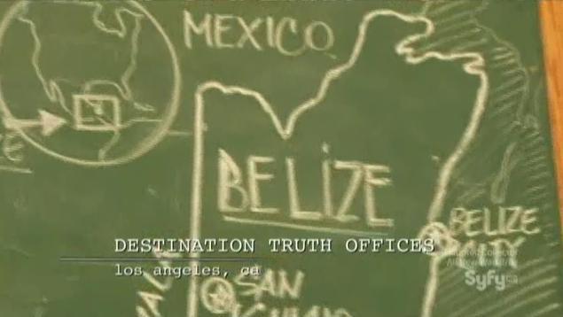 Destination Truth S5x02 Belize 1