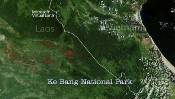 Destination Truth S5x1 Ke Bang National Park via Microsoft Virtual Earth