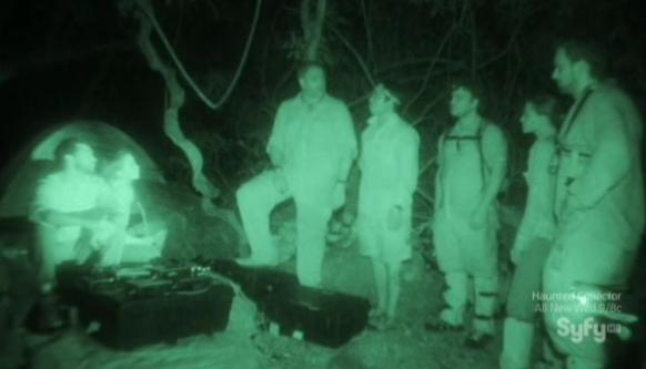 Destination Truth S5x1 Team Truth Plans Before Night Investigation