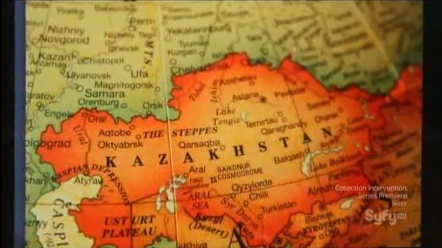 Destination Truth S5x08 Kazakhstan map