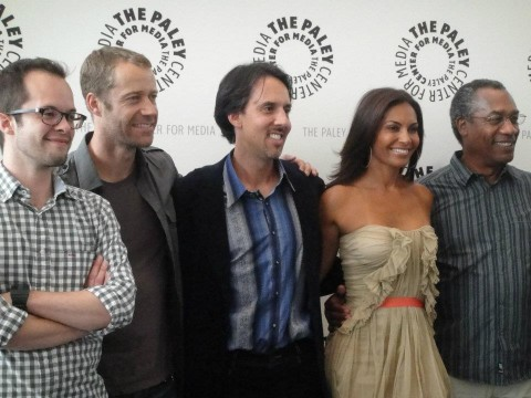 At the Paley Center L.A July 9, 2012 - Neil Grayston Colin Ferguson Jaime Paglia Salli Richardson Joe Morton