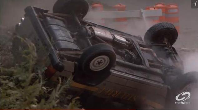 Eureka S5x12 The last destroyed Jeep?