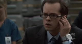 Eureka S6x01 - Fargo says he must make a phone call