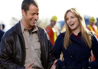 Eureka  Season 3 +Ship Happens +Sheriff Jack Carter and J Dr. Tess Fontana