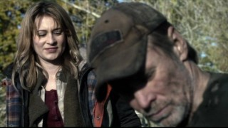 Falling Skies S2x03 - Camille Sullivan as Avery with Will Patton as Captain Weaver