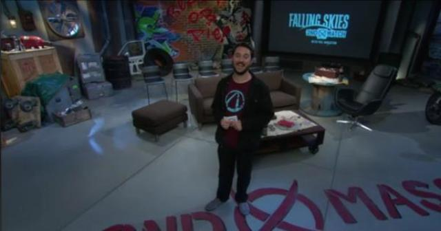 Falling Skies - Wil Wheaton hosts 2nd Watch