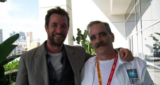SDCC Falling Skies Noah Wyle and Kenn