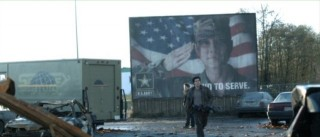 Falling Skies S2x04 - Drew Roy as Hal and Connor Jessup as Ben Proud to serve