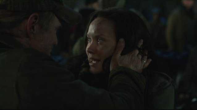 Falling Skies S2x04 - Jeene forgives her Dad Papa Bear Captain Weaver