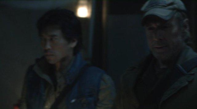 Falling Skies S2x04 - Peter Shinkoda as Dai with Will Patton as Captain Weaver