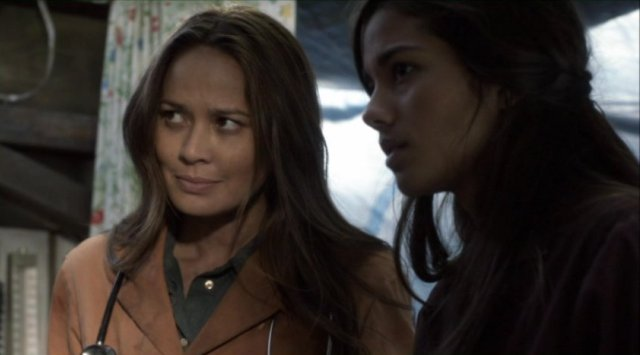Falling Skies S2x05 - Anne Glass and her faithful medical assistant Lourdes
