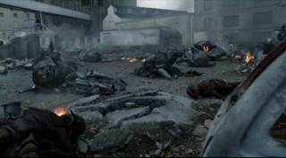 Falling Skies S2x05 - Artifacts of war rubble location set