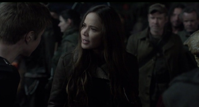 Falling Skies S2x05 Ben asking Ann if she would help the skitter
