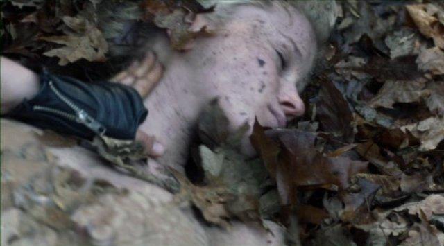 Falling Skies S2x06 - Jessy Schram as Karen is found barely alive