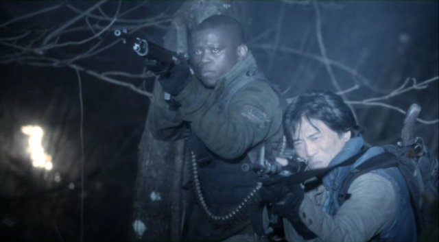Falling Skies S2x07 - Anthony and Dai in battle