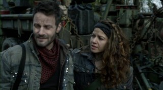 Falling Skies S2x07 - Crazy Lee and Tector characters are a delight o behold