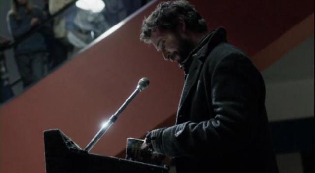 Falling Skies S2 X09 Tom quotes Manchesters book