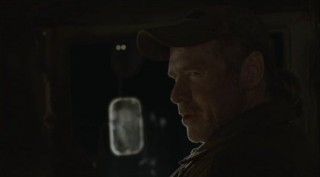 Falling Skies S2x08 - Captain Weavers probing into Tector's past
