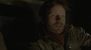 Falling Skies S2x08 - Tector stunned when he hits Skitterized Jenny