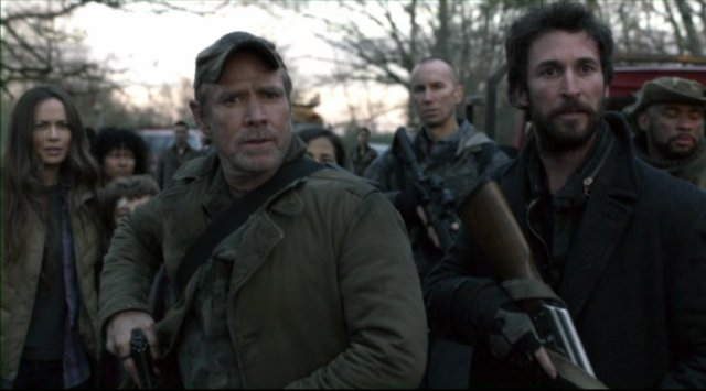 Falling Skies S2x08 - Will Patton as 2nd Mass leader Captain Dan Weaver