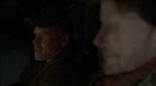 Falling Skies S2x08 - Will Patton as Captain Weaver and Ryan Robbins as Tector
