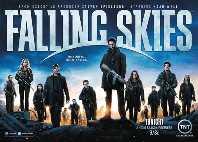 Falling Skies: On Thin Ice Collateral Damage Canoodling in the Forest!