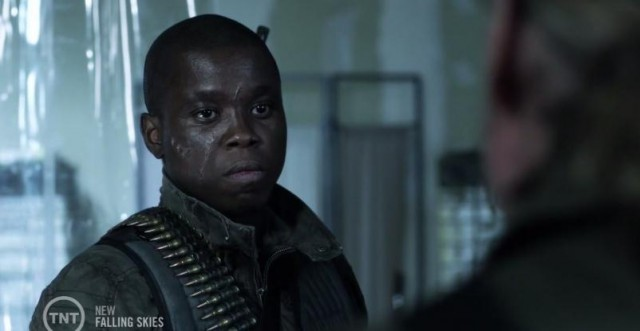 Falling Skies S3x07 Anthony on the hunt for the mole
