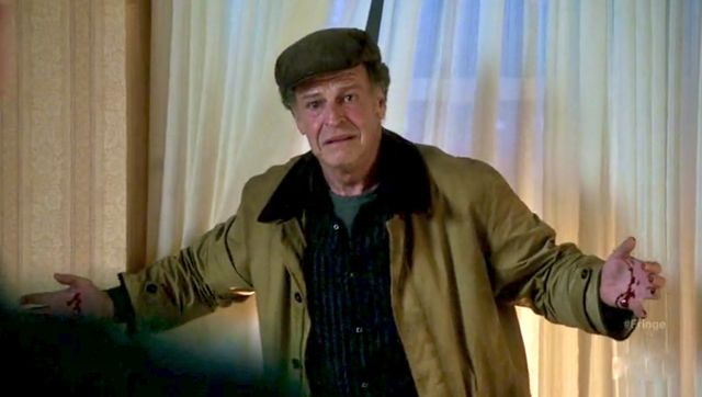 Fringe S4x04 Subject 9 - Walter tearing up the hotel room