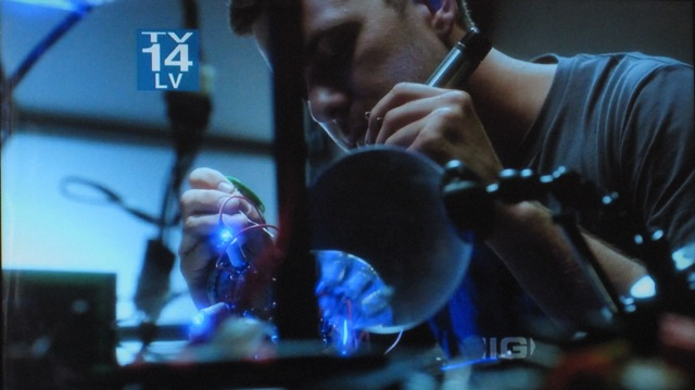 Fringe S4x05 - Peter with memory disk