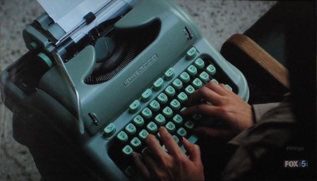 Fringe S4x05 -The typewriter